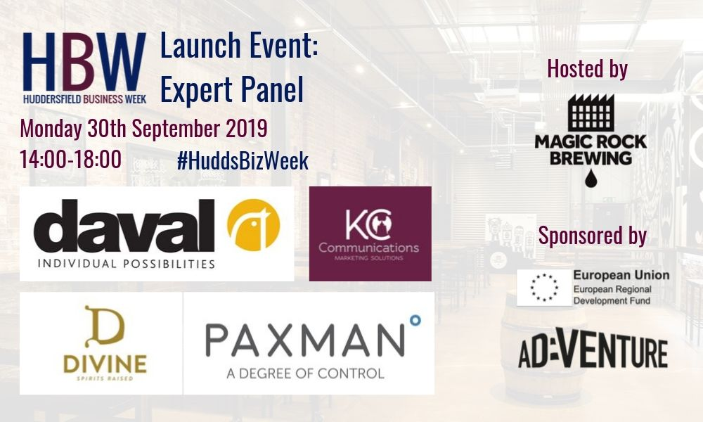 Huddersfield Business Week Launch Event Panel Announced
