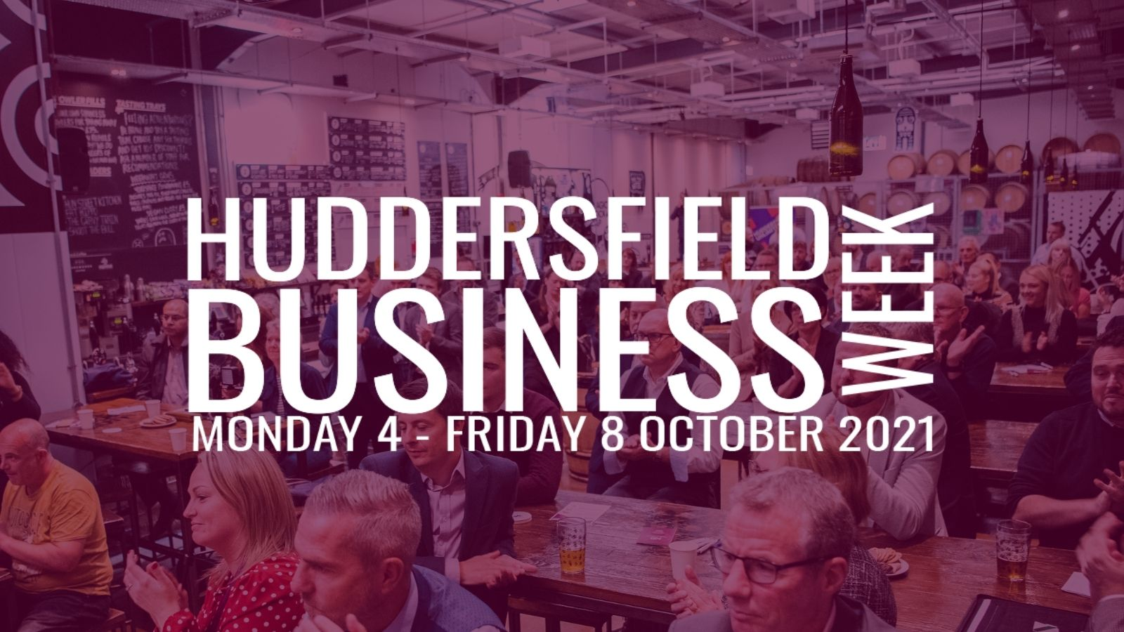 Huddersfield Business Week to return this Autumn!