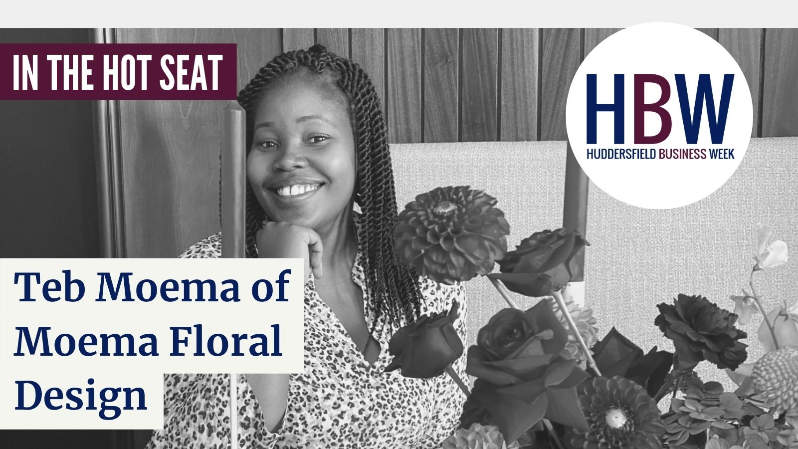 In the Hot Seat with… Teb Moema of Moema Floral Design!